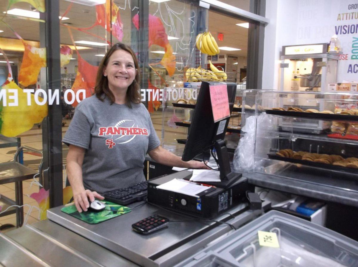 SPASH kitchen staff Brenda Varga
